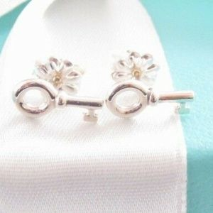 Tiffany & Co. Key Earrings